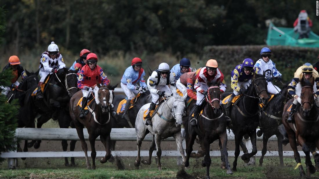 This year was the 128th Velka Pardubicka Steeplechase. It's been held every year on the second Sunday in October, except during World War I and II, the 1968 Russian invasion and once due to snowy weather conditions.