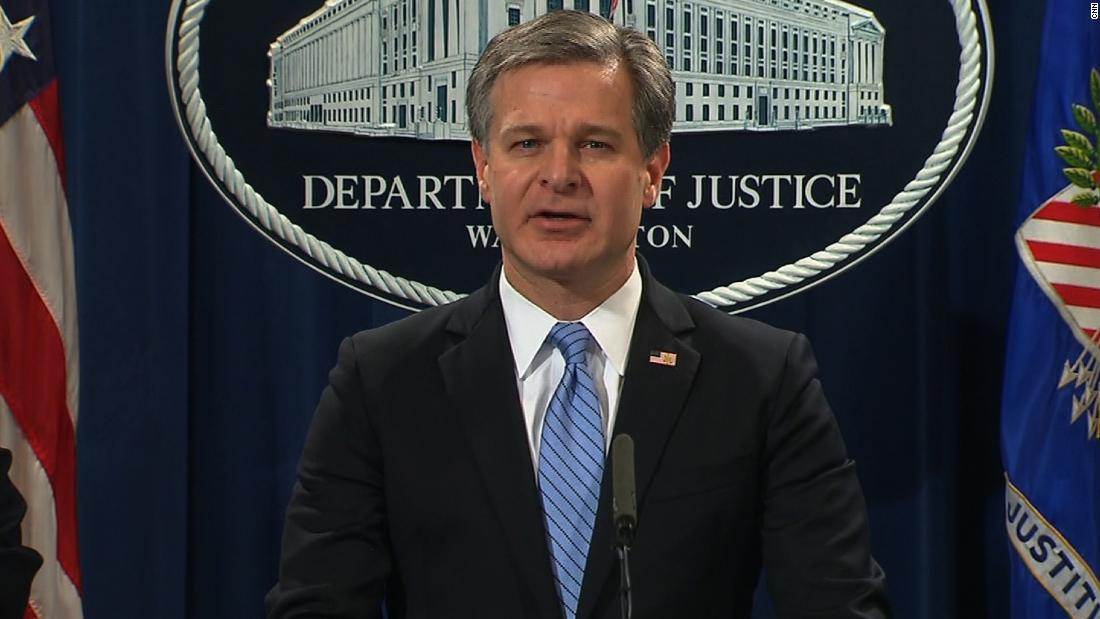 Wray: 13 bombs sent are not hoax devices