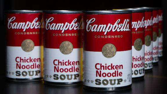 A cans of Campbell