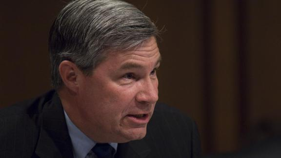 WASHINGTON, DC - July 13: Sen. Sheldon Whitehouse, D-R.I., delivers his opening statement during the Senate Judiciary hearing for President Obama's U.S. Supreme Court nominee Sonia Sotomayor. (Photo by Scott J. Ferrell/Congressional Quarterly/Getty Images)