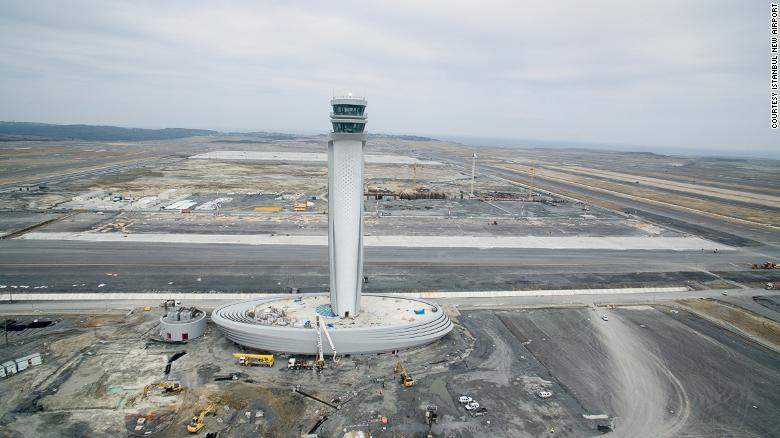 Istanbul New Airport in Turkey aims to be one of world's