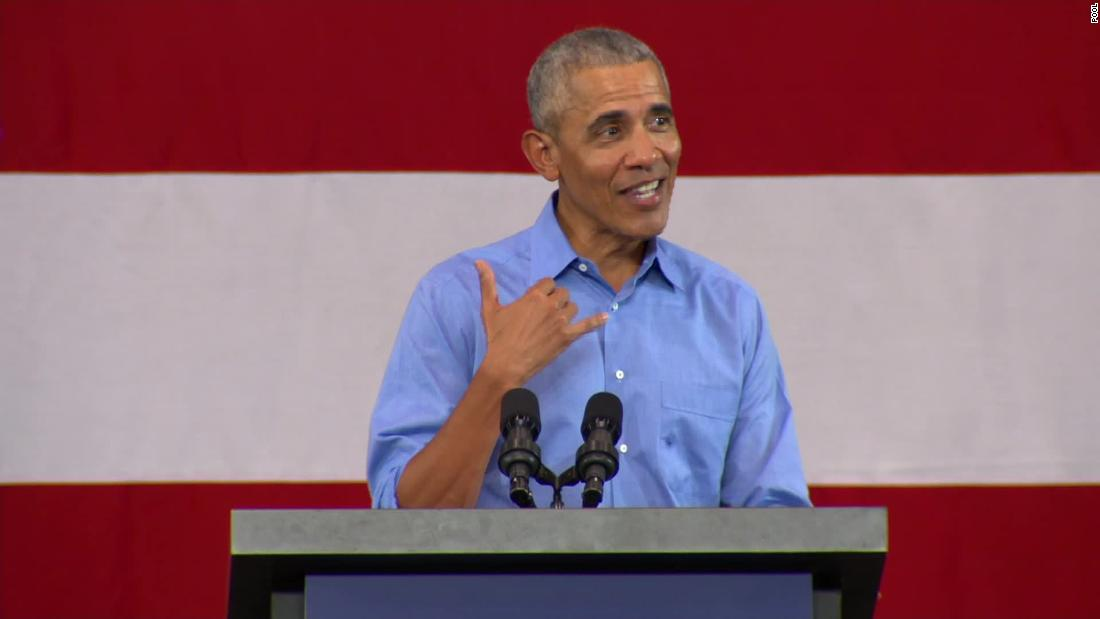 Obama rips Trump: 'It's wrong to spend all your time from a position of power vilifying people'