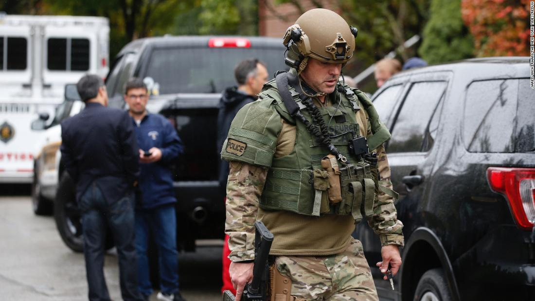 Suspect identified in deadly shooting at Pittsburgh synagogue