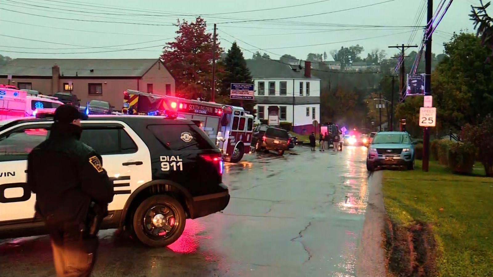 Investigators converge on suspect's home