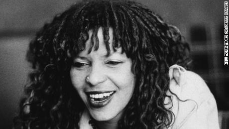 American playwright and poet Ntozake Shange.