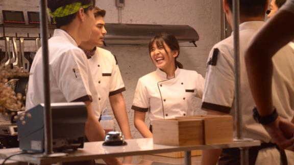 """<strong>""""Oh My Ghost""""</strong> : Possessed by the ghost of a lustful virgin, a timid assistant chef becomes confidently libidinous, drawing the attention of a haughty culinary star in this Korean series. <strong>(Netflix) </strong>"""