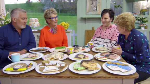 """<strong>""""The Great British Baking Show - Collection 6""""</strong>: The revamped version of this beloved show features amateur bakers trying  to take home the sweet prize as the best. <strong>(Netflix) </strong>"""