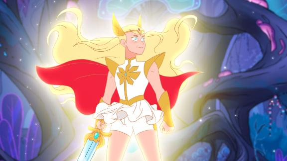 """<strong>""""She-Ra and the Princesses of Power""""</strong>: In this reboot of the '80s series, a magic sword transforms an orphan girl into warrior She-Ra, who unites a rebellion to fight against evil. <strong>(Netflix) </strong>"""