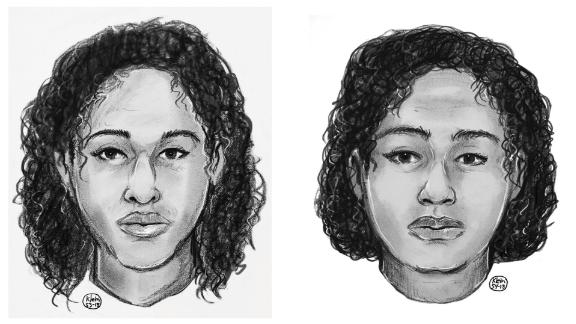 Before the bodies were ID'd, police released sketches of the siblings.