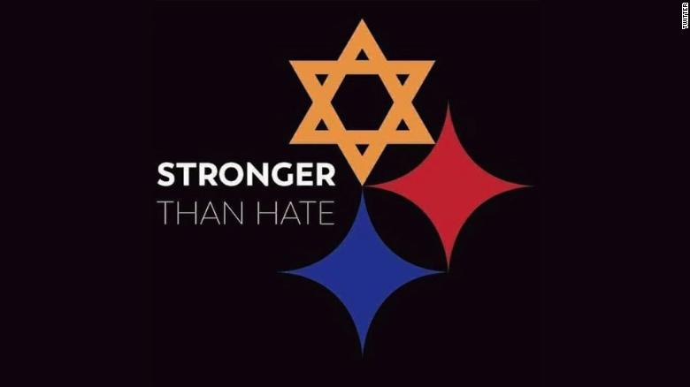Steelers Logo Remade To Honor Shooting Victims Cnn