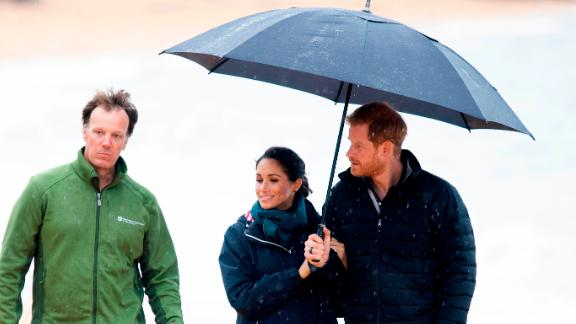 The Duke and Duchess of Sussex visit Abel Tasman National Park on day two of the royal couple's tour of New Zealand.