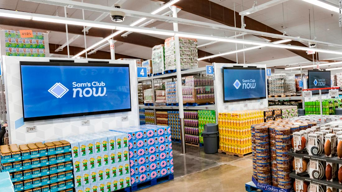 Walmart is testing a cashierless Sam's Club - CNN