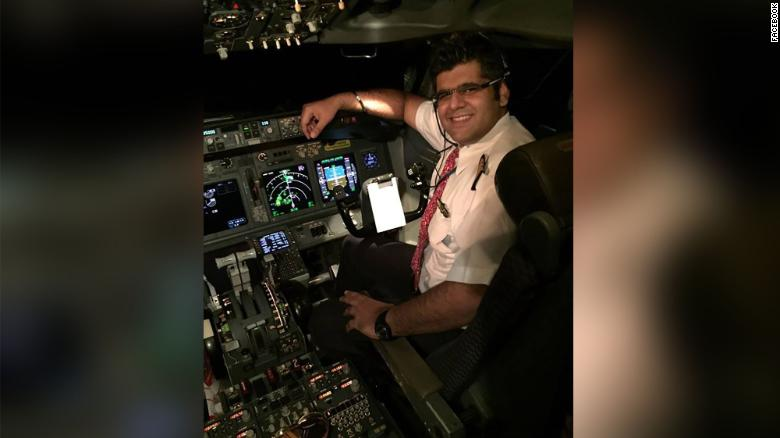 Lion Air captain Bhavye Suneja.