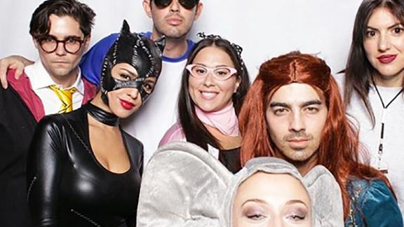 "Joe Jonas went as his lady love's ""Game of Thrones"" character for Halloween."