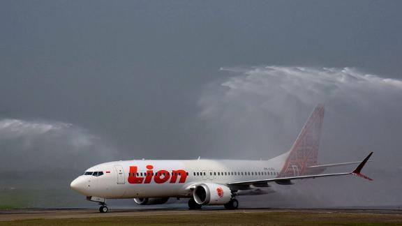 A Lion Air Boeing 737 MAX 8
