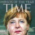 angela merkel life time cover unfurled