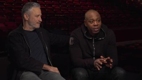 Amanpour interviews Dave Chappelle and Jon Stewart