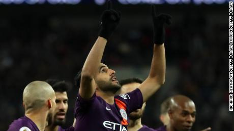 Riyad Mahrez's early goal proved the difference between the two sides