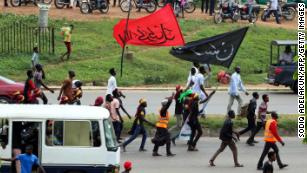 Nigerian army appears to use Trump's words to defend shooting of protesters