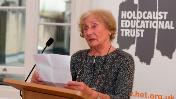 Susan Pollack works with the UK Holocaust Education Trust to educate people on the horrors of the Holocaust.