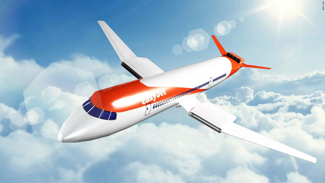 EasyJet plans electric planes by 2030