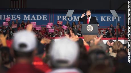 Trump fills the last days with midterms with false promises and divorce rhetoric