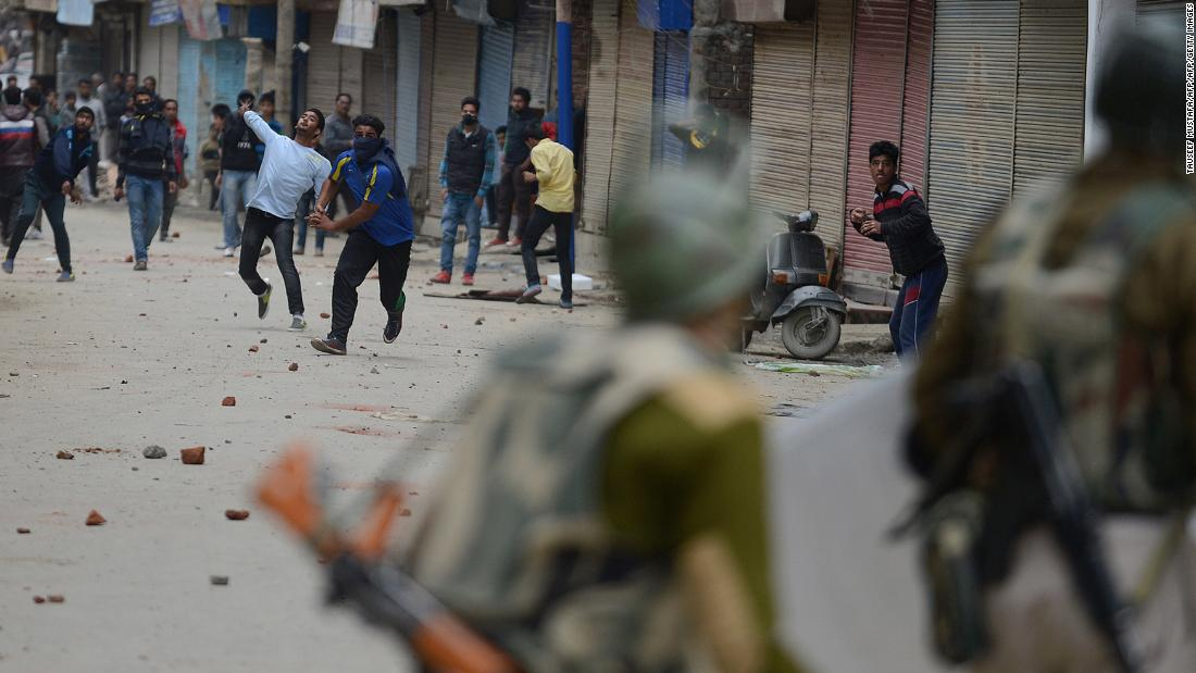 They were spurred on by seeing groups of youths congregating in the evenings causing social unrest. The region has long been blighted by political power struggles which have frequently resulted in clashes with Indian security forces.