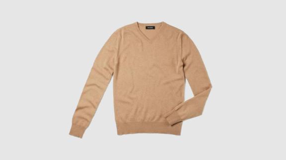 Naadam The Essential $75 Cashmere V-Neck Sweater ($75; naadam.com)