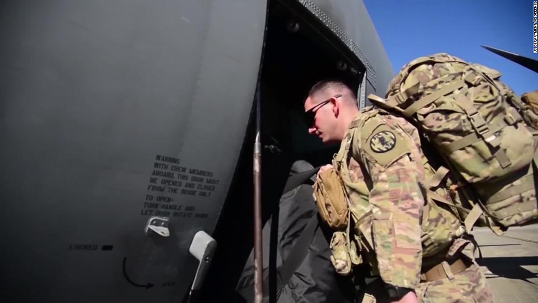 Veterans slam Trump for border 'stunt'