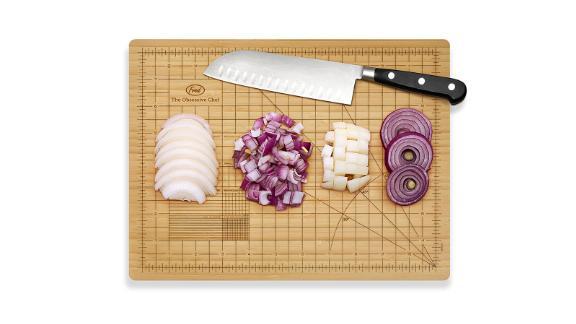 The Obsessive Chef Cutting Board ($27; amazon.com)