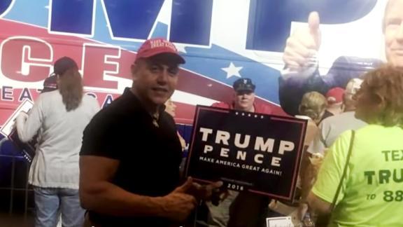 Cesar Sayoc attended several Trump rallies.