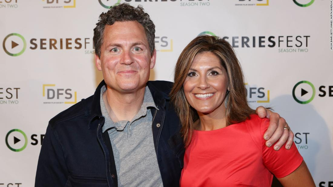 """Last Chance U"" director Gregory Whiteley (left) and former Eastern Mississippi councilor Brittany Wagner arrive for the screening of the show's first season in June, 2016 in Denver, Colorado."