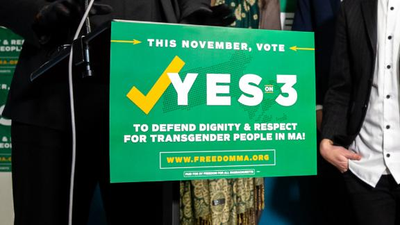 Yes on 3 is the coalition working to uphold the Massachusetts' transgender nondiscrimination law on the November 6, 2018 ballot.
