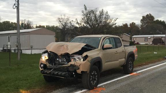 The motorist in the fatal accident was driving a 2017 Toyota Tacoma.