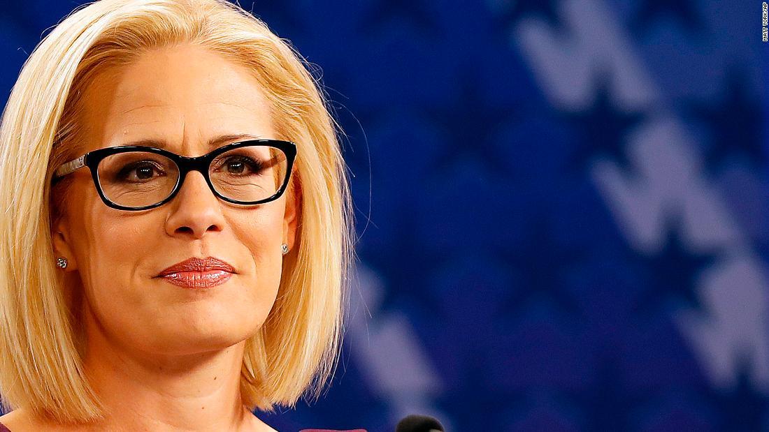 Democrats flip Arizona US Senate seat with Sinema victory