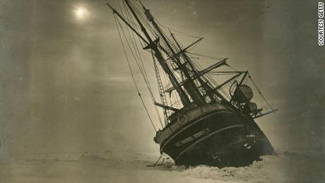 The-ship's-wooden-hull-groaned-in-the-grip-of-the-ice----Courtesy-Getty-4