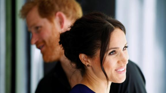 Prince Harry, Duke of Sussex and Meghan, Duchess of Sussex visit the National Kiwi Hatchery at Rainbow Springs on Oct. 31, 2018 in Rotorua, New Zealand.