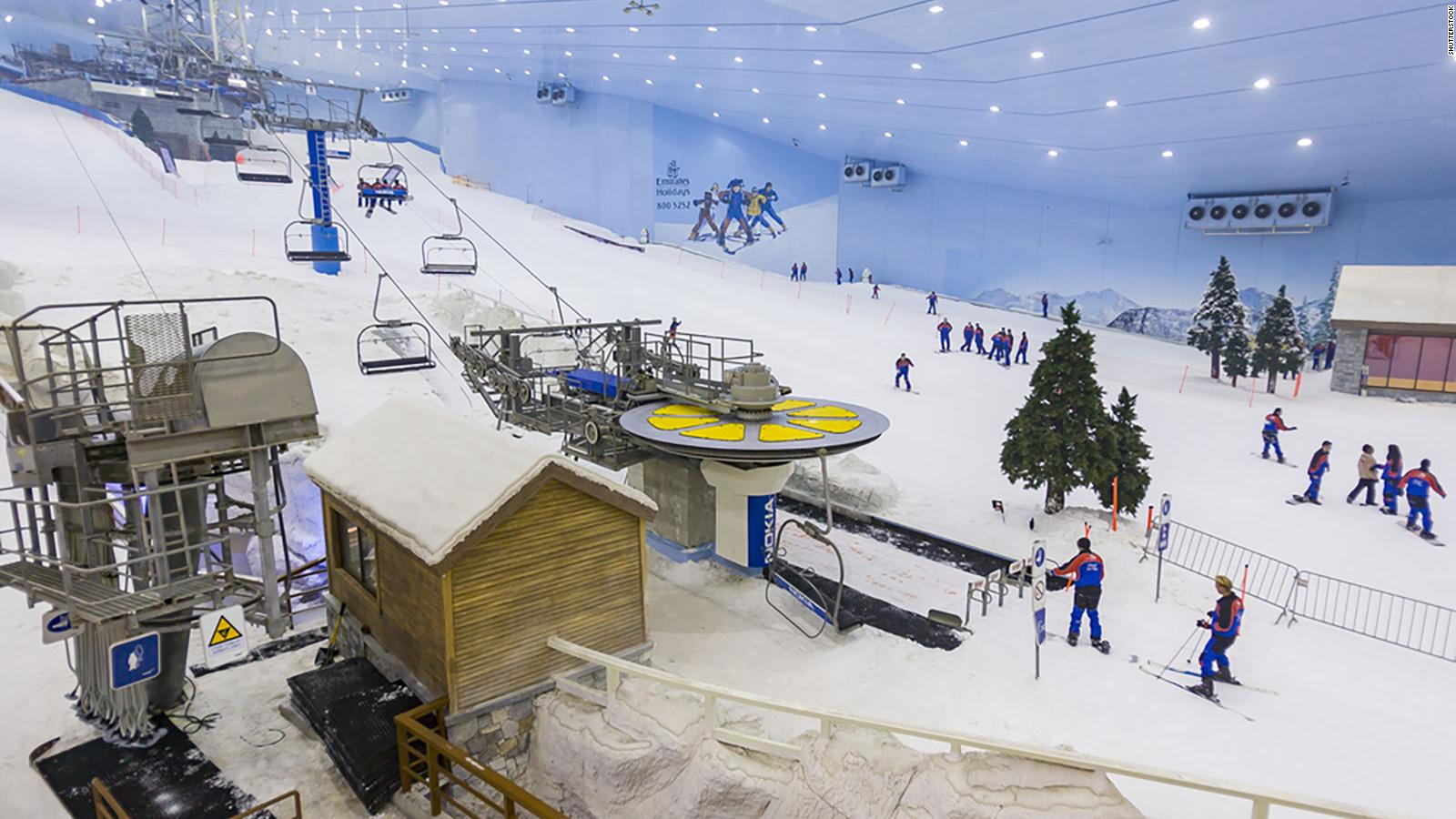 Ilustrasi : Ski Dubai (sumber :  CNN)