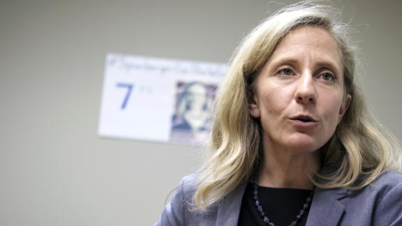 Abigail Spanberger, Democratic U.S. Representative candidate from Virginia, speaks during an interview in Henrico, Virginia, U.S., on Friday, Sept. 7, 2018. Spanberger, 38, is emblematic of the 2018 class of female candidates running in competitive races. She's challenging GOP Representative Dave Brat in a once solidly Republican Virginia congressional district that has grown more suburbanand Democraticin recent years.