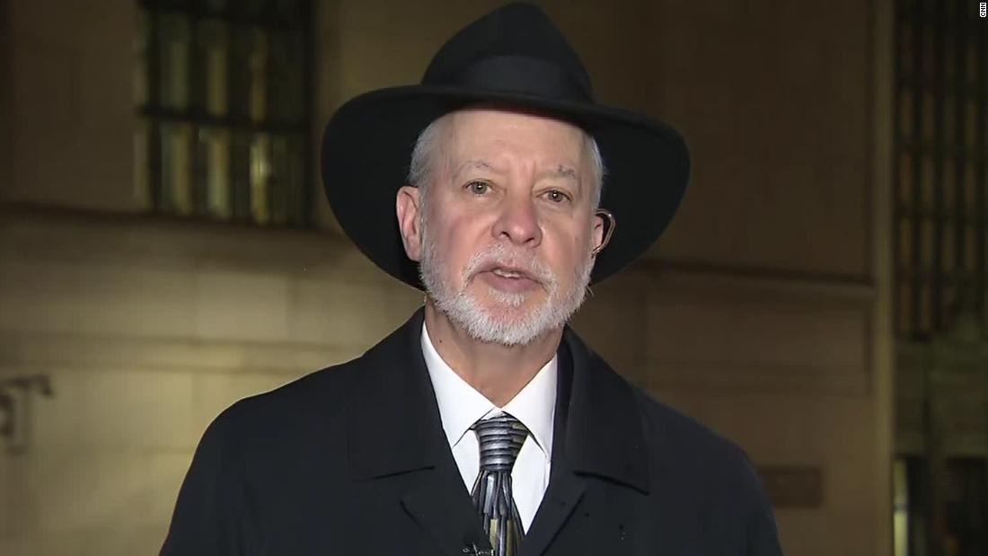 Pittsburgh synagogue rabbi says Trump showed 'warm and personal side' during visit