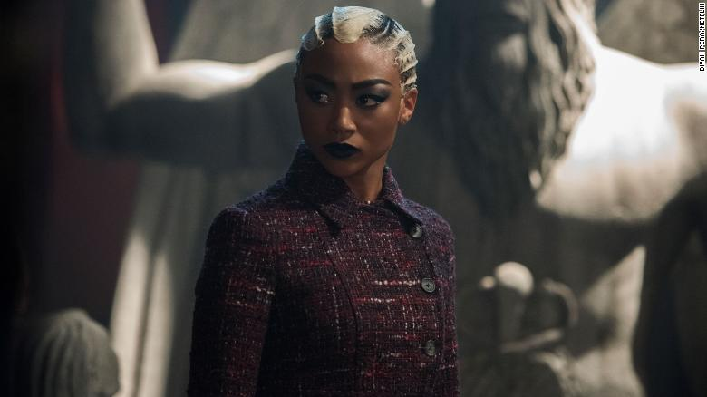 """Tati Gabrielle plays the witch Prudence in Netflix's """"The Chilling Adventures of Sabrina."""""""