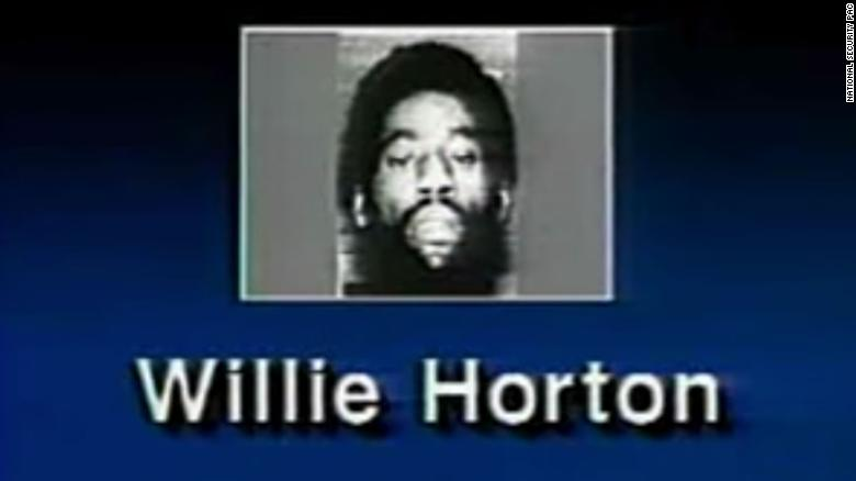An image of convicted killer Willie Horton from a controversial 1988 campaign ad.