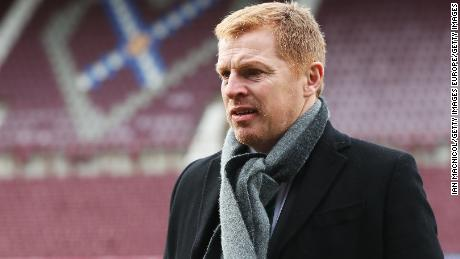 Hibernian boss Neil Lennon has had issues with Hearts fans before. He was attacked on the touchline in 2011.