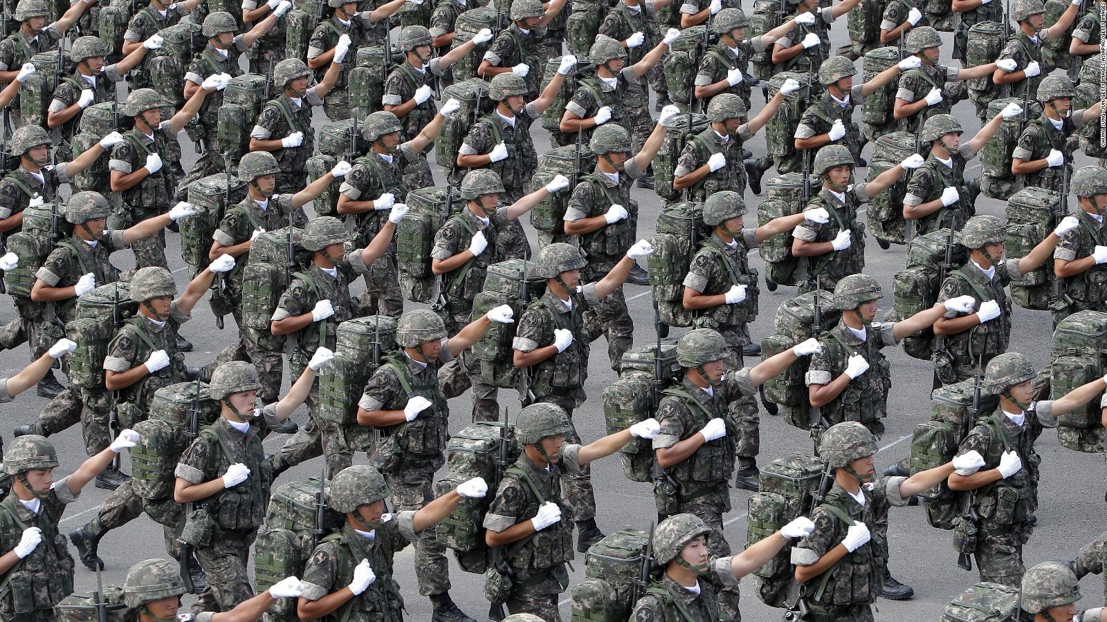 """Résultat de recherche d'images pour """"south korean conscription"""""""