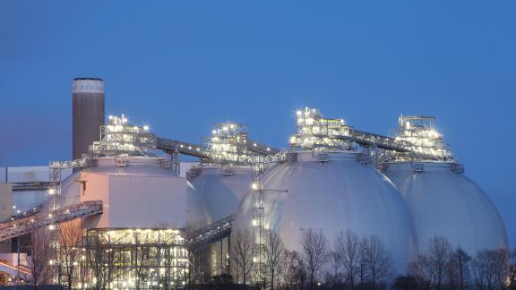 Drax power station provides about 6% of the UK power supply, with four of its six generators powered solely by biomass.