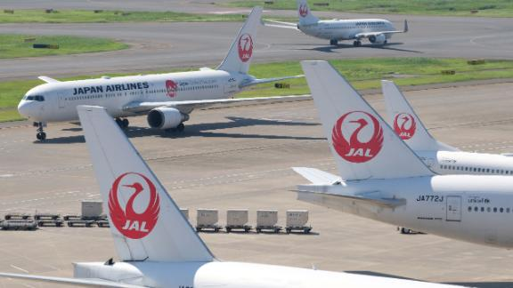A Japan Airlines pilot was arrested in London after failing a breathalyzer test in October.