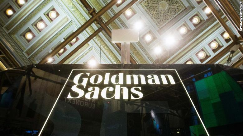 Goldman Sachs' first quarter revenue falls short
