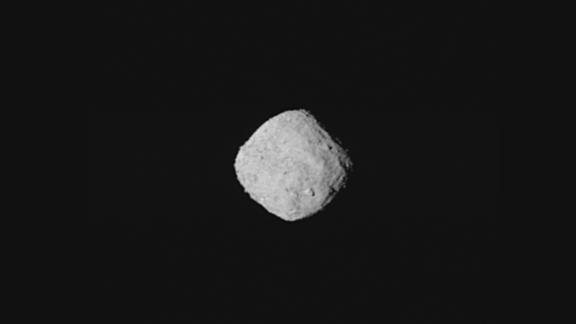 Bennu, as seen on approach by the OSIRIS-REx spacecraft.