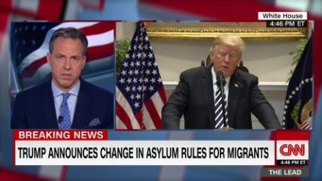 A quick live fact check of some of Trump's immigration falsehoods