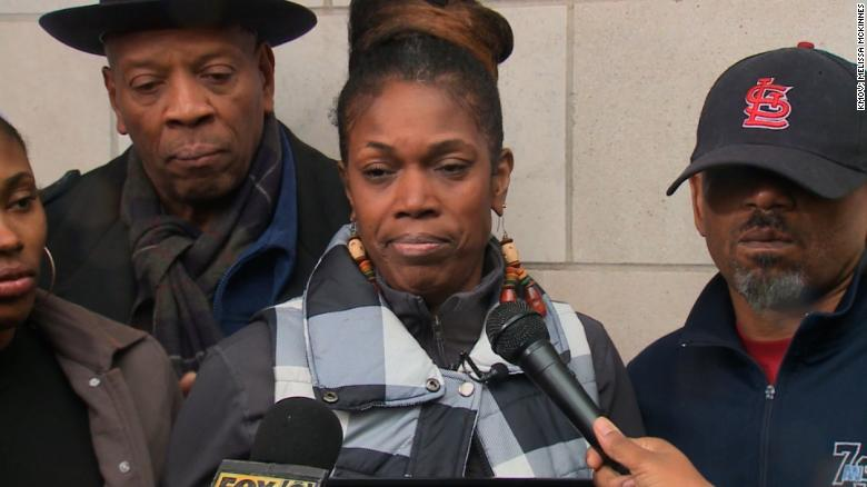 Ferguson activist Melissa McKinnies said her son was not suicidal and she believes he was killed.